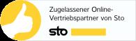 Zugelassener Online-Vertriebspartner von Sto