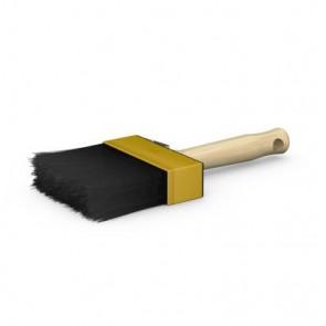 Sto-Fassadenstreicher Profi 100 mm, Borstenlänge 76 mm, schwarze Borsten, Polyamidfassung